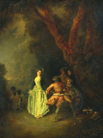The Country Dance, C.1711