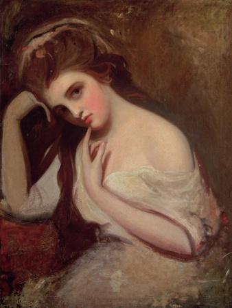 Sketch of Emma Hamilton (1761-1815), 1782-84
