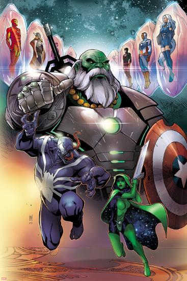 'Contest of Champions #1 Cover with Maestro, Venom, Gamora ...