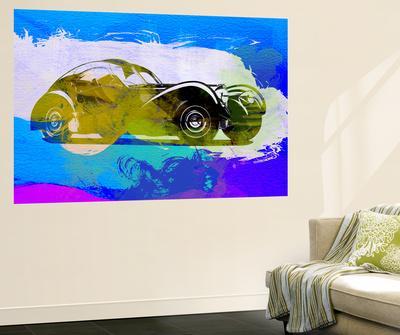 Bugatti Atlantic Watercolor 2