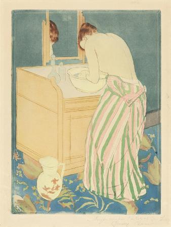 Woman Bathing, 1890-1