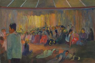 La Maison Des Chants (Te Fare Hymenee), 1892