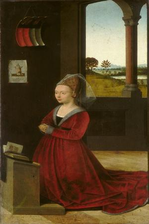 Portrait of a Female Donor, c.1455
