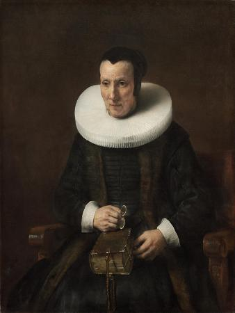 Old Lady with a Book, 1647