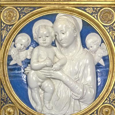 Madonna and Child with Cherubs, c.1485
