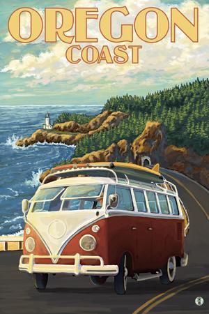 Oregon Coast, Cruising the Coast, VW Bug Van