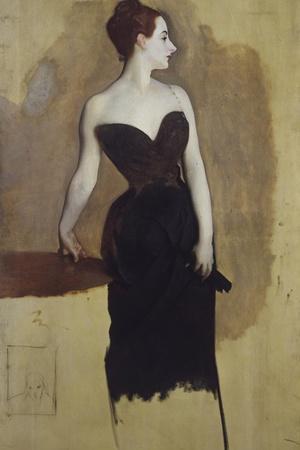 Study of Mme Gautreau