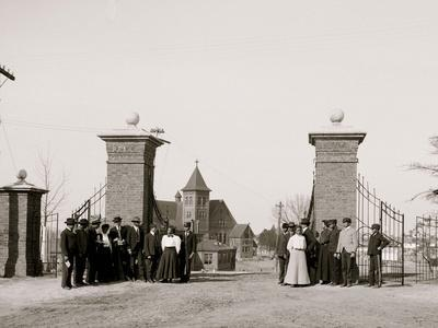 The Lincoln Gates, Tuskegee Institute, Ala.