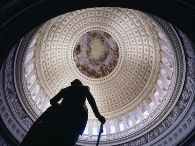 Interior Rotunda US Capitol Building