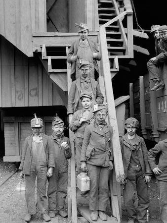 Breaker Boys, Woodward Coal Mines, Kingston, Pa.