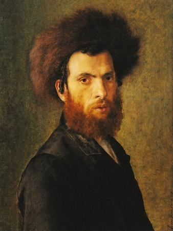 Portrait of a Young Hassidic Jew