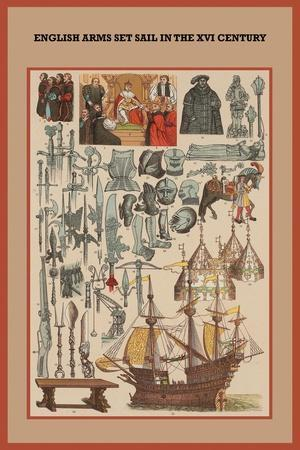 English Arms Set Sail in the XVI Century