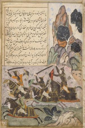 Babur Marches from Kabul to Hindustan