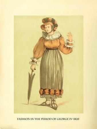 Fashion in the Period of George IV
