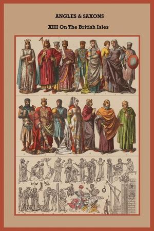 Angles and Saxons XIII on the British Isles
