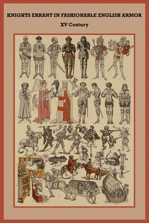 Knights Errant in Fashionable English Armor XV Century