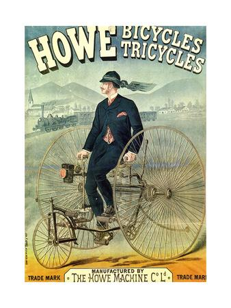 Howe, Bicycles, Tricycles