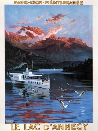 Lake D'Annecy (1900)