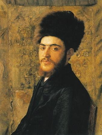 Man with Fur Hat