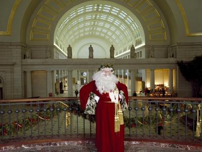 Santa Claus at the Library