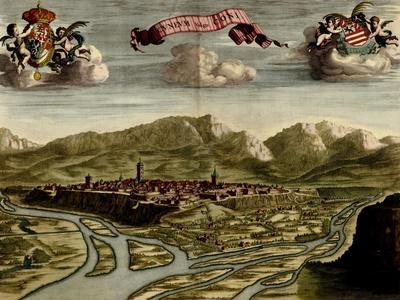 Battlements at Milan - 1700