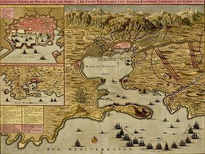 Straits of Cadiz - Gibraltar - 1700