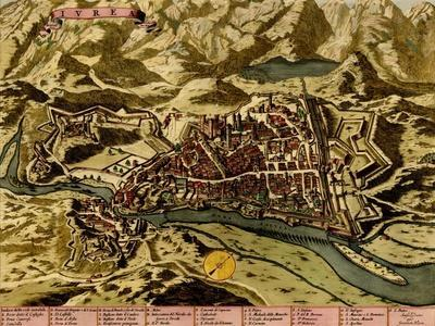 Turin or Torino and its Envisons - 1700