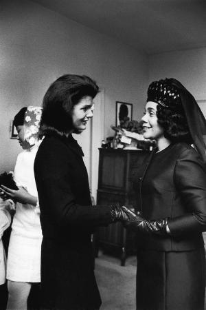 Coretta Scott King, Jacquelyn Kennedy, 1968