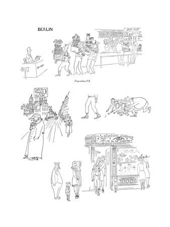 Peacetime PX - New Yorker Cartoon