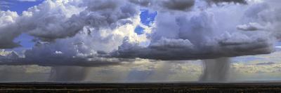 Rainclouds in a Tropical Desert in Northern Kenya