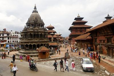 View of Patan's Durbar Square