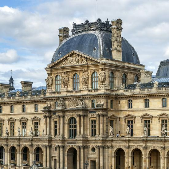 The Louvre Palace Home To The Louvre Museum Is A Former Royal Palace On The Bank Of Seine River Photographic Print Babak Tafreshi Allposters Com