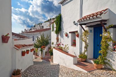 El Acebuchal, the Lost Village or Ghost Village, Between Frigiliana and Torrox, Malaga Province