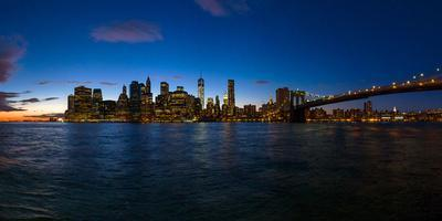View of Skyline from Brooklyn, Manhattan, New York City, New York State, Usa 2014