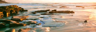Rock Formations at Windansea Beach, La Jolla, San Diego, California, Usa