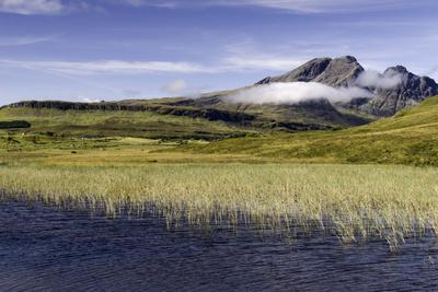 Loch Cill Chriosd Near Broadford Looking to Blaven and Red Cuillin on the Isle of Skye