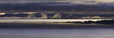 Panoramic View of Dawn Breaking across the Sound of Raasay and the Isle of Rona