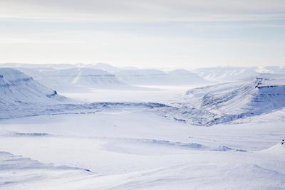 View Toward Rabotbreen, Rabot Glacier, Reindalen Valley