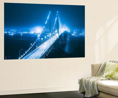 Blue City Bridge, Bay Bridge, San Francisco, California