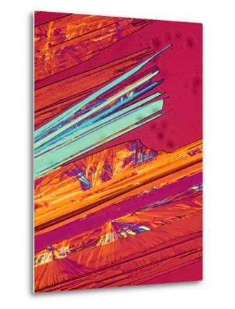 A Photomicrograph, a Picture Taken Through a Microscope, of Benzoic Acid
