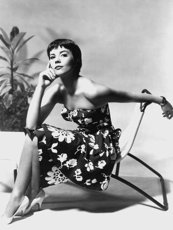 The American Actress Natalie Wood (1938-1981) C. 1956