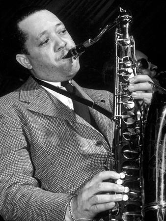 Jazz Saxophonist Lester Young (1909-1959) C. 1953