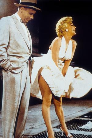 The Seven Year Itch by Billy Wilder with Tom Ewell, Marilyn Monroe, 1955
