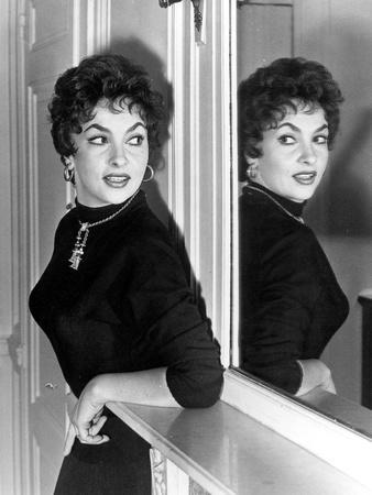 Actress Gina Lollobrigida October 31, 1955