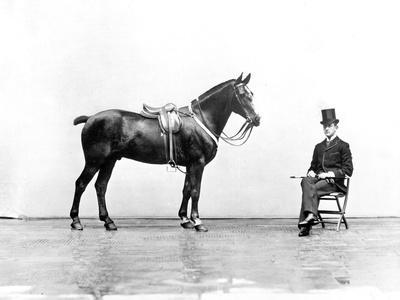 Duke Emanuele Filiberto of Savoy in Florence in 1890