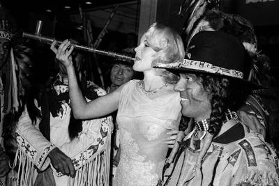 "Actress Carroll Baker at the Premiere of the Film ""Cheyenne Autumn"", Paris, 29 October 1964"