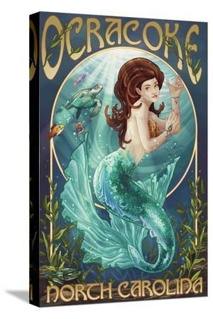 Ocracoke, North Carolina - Mermaid