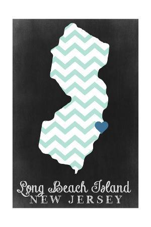 Long Beach Island, New Jersey - Chalkboard
