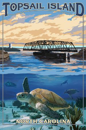 Topsail Island, North Carolina - Bridge View