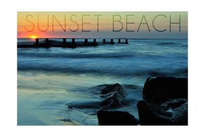 Cape May, New Jersey - Sunset Beach